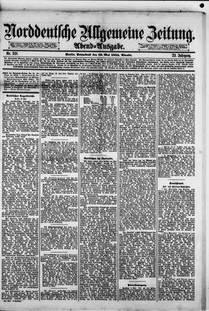 Norddeutsche allgemeine Zeitung vom 10.05.1884