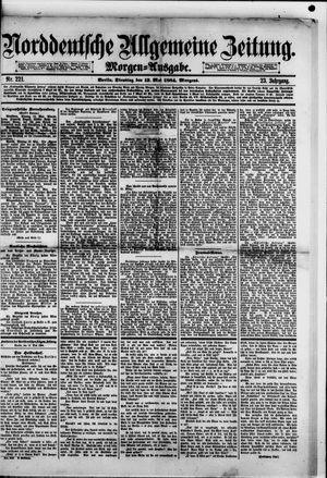 Norddeutsche allgemeine Zeitung vom 13.05.1884