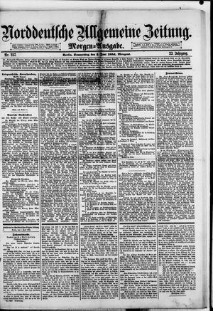 Norddeutsche allgemeine Zeitung vom 05.06.1884