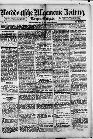 Norddeutsche allgemeine Zeitung vom 08.06.1884