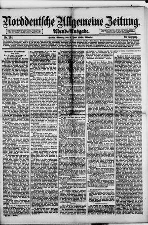 Norddeutsche allgemeine Zeitung vom 09.06.1884