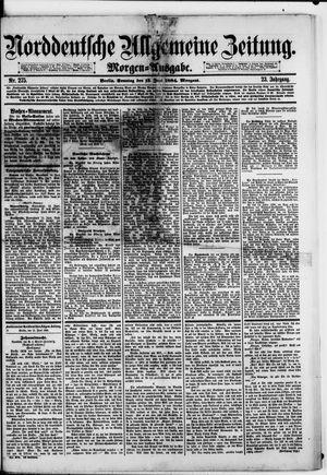Norddeutsche allgemeine Zeitung on Jun 15, 1884