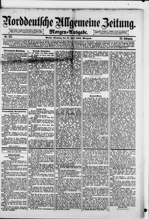 Norddeutsche allgemeine Zeitung on Jun 17, 1884