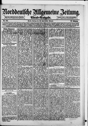 Norddeutsche allgemeine Zeitung vom 20.06.1884