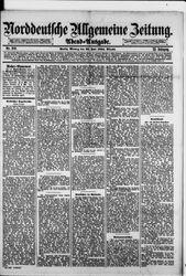 Norddeutsche allgemeine Zeitung (23.06.1884)