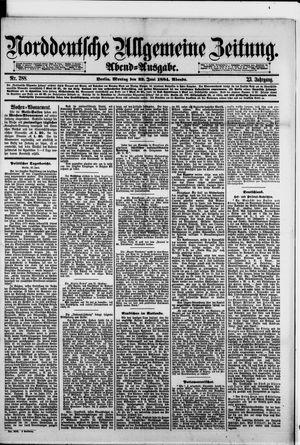 Norddeutsche allgemeine Zeitung vom 23.06.1884