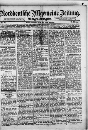 Norddeutsche allgemeine Zeitung vom 03.07.1884