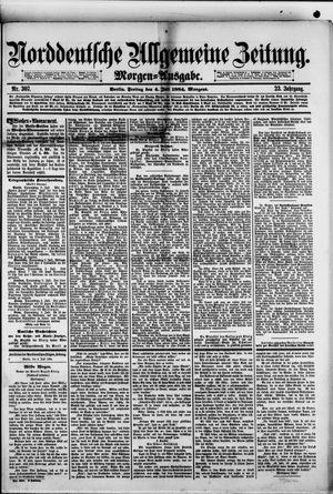 Norddeutsche allgemeine Zeitung vom 04.07.1884