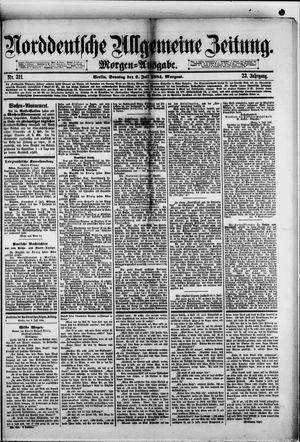 Norddeutsche allgemeine Zeitung vom 06.07.1884