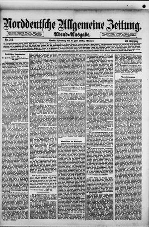 Norddeutsche allgemeine Zeitung vom 08.07.1884