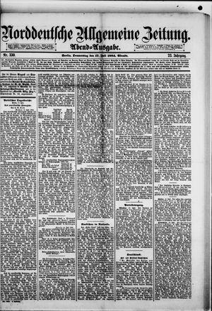 Norddeutsche allgemeine Zeitung vom 17.07.1884