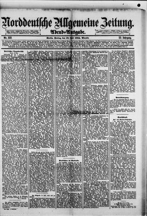 Norddeutsche allgemeine Zeitung vom 18.07.1884