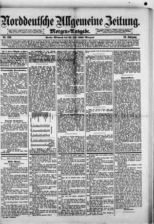 Norddeutsche allgemeine Zeitung vom 23.07.1884