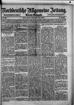 Norddeutsche allgemeine Zeitung vom 29.07.1884