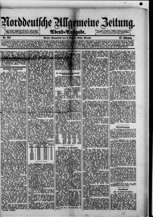 Norddeutsche allgemeine Zeitung vom 02.08.1884