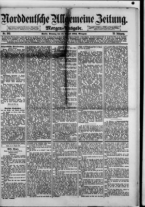 Norddeutsche allgemeine Zeitung on Aug 17, 1884