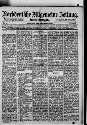 Norddeutsche allgemeine Zeitung vom 02.01.1885