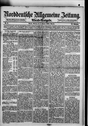 Norddeutsche allgemeine Zeitung vom 05.01.1885