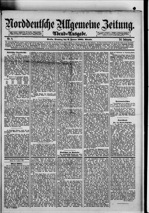 Norddeutsche allgemeine Zeitung vom 06.01.1885