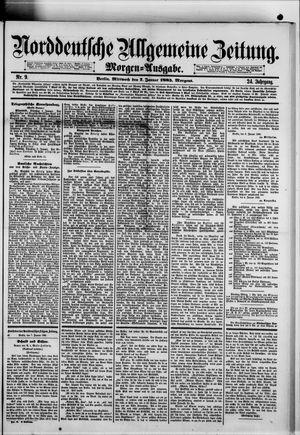Norddeutsche allgemeine Zeitung vom 07.01.1885