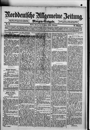 Norddeutsche allgemeine Zeitung vom 09.01.1885