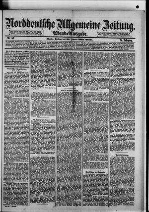 Norddeutsche allgemeine Zeitung vom 30.01.1885