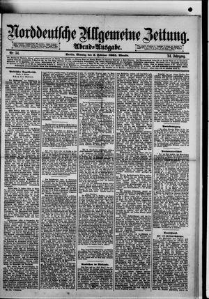 Norddeutsche allgemeine Zeitung on Feb 2, 1885
