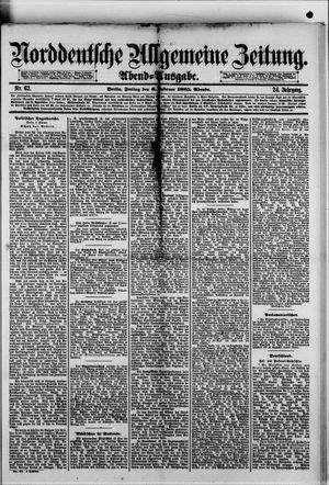 Norddeutsche allgemeine Zeitung vom 06.02.1885