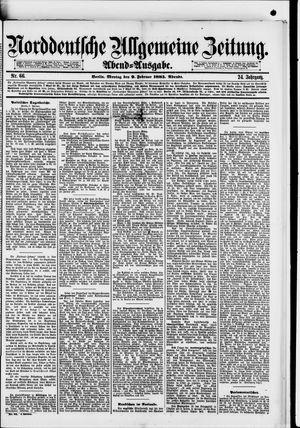 Norddeutsche allgemeine Zeitung vom 09.02.1885