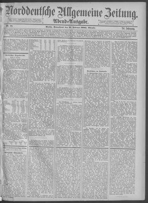 Norddeutsche allgemeine Zeitung vom 21.02.1885