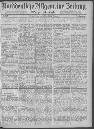 Norddeutsche allgemeine Zeitung on Mar 6, 1885