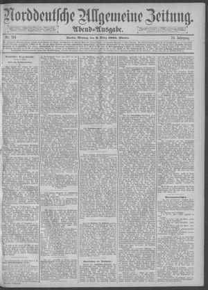 Norddeutsche allgemeine Zeitung vom 09.03.1885