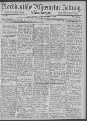 Norddeutsche allgemeine Zeitung vom 14.03.1885