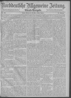 Norddeutsche allgemeine Zeitung vom 16.03.1885