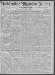 Norddeutsche allgemeine Zeitung (17.03.1885)