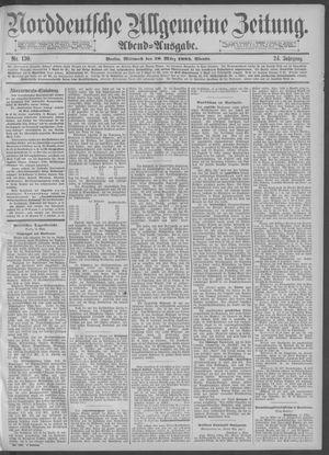 Norddeutsche allgemeine Zeitung vom 18.03.1885
