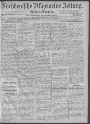 Norddeutsche allgemeine Zeitung vom 19.03.1885