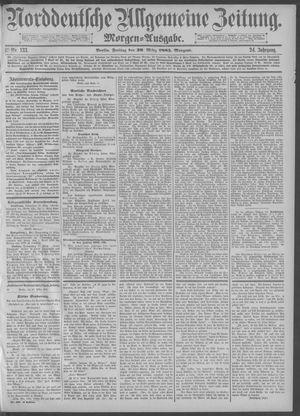 Norddeutsche allgemeine Zeitung vom 20.03.1885