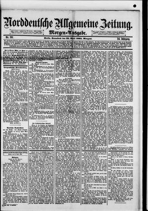 Norddeutsche allgemeine Zeitung on Apr 25, 1885