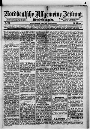 Norddeutsche allgemeine Zeitung vom 02.05.1885