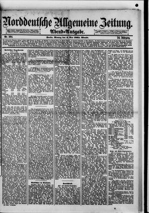 Norddeutsche allgemeine Zeitung vom 04.05.1885
