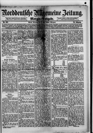 Norddeutsche allgemeine Zeitung on May 5, 1885
