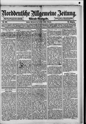 Norddeutsche allgemeine Zeitung on May 6, 1885