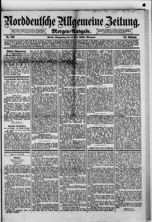 Norddeutsche allgemeine Zeitung vom 07.05.1885