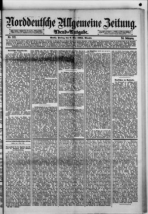 Norddeutsche allgemeine Zeitung vom 08.05.1885