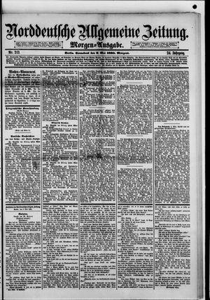 Norddeutsche allgemeine Zeitung vom 09.05.1885