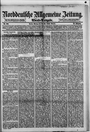 Norddeutsche allgemeine Zeitung vom 18.05.1885