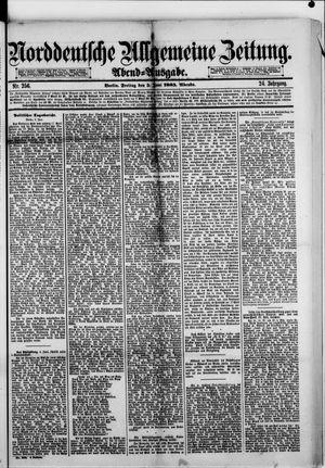 Norddeutsche allgemeine Zeitung vom 05.06.1885
