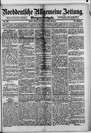 Norddeutsche allgemeine Zeitung vom 07.06.1885