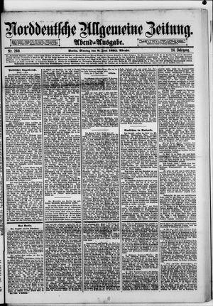 Norddeutsche allgemeine Zeitung vom 08.06.1885
